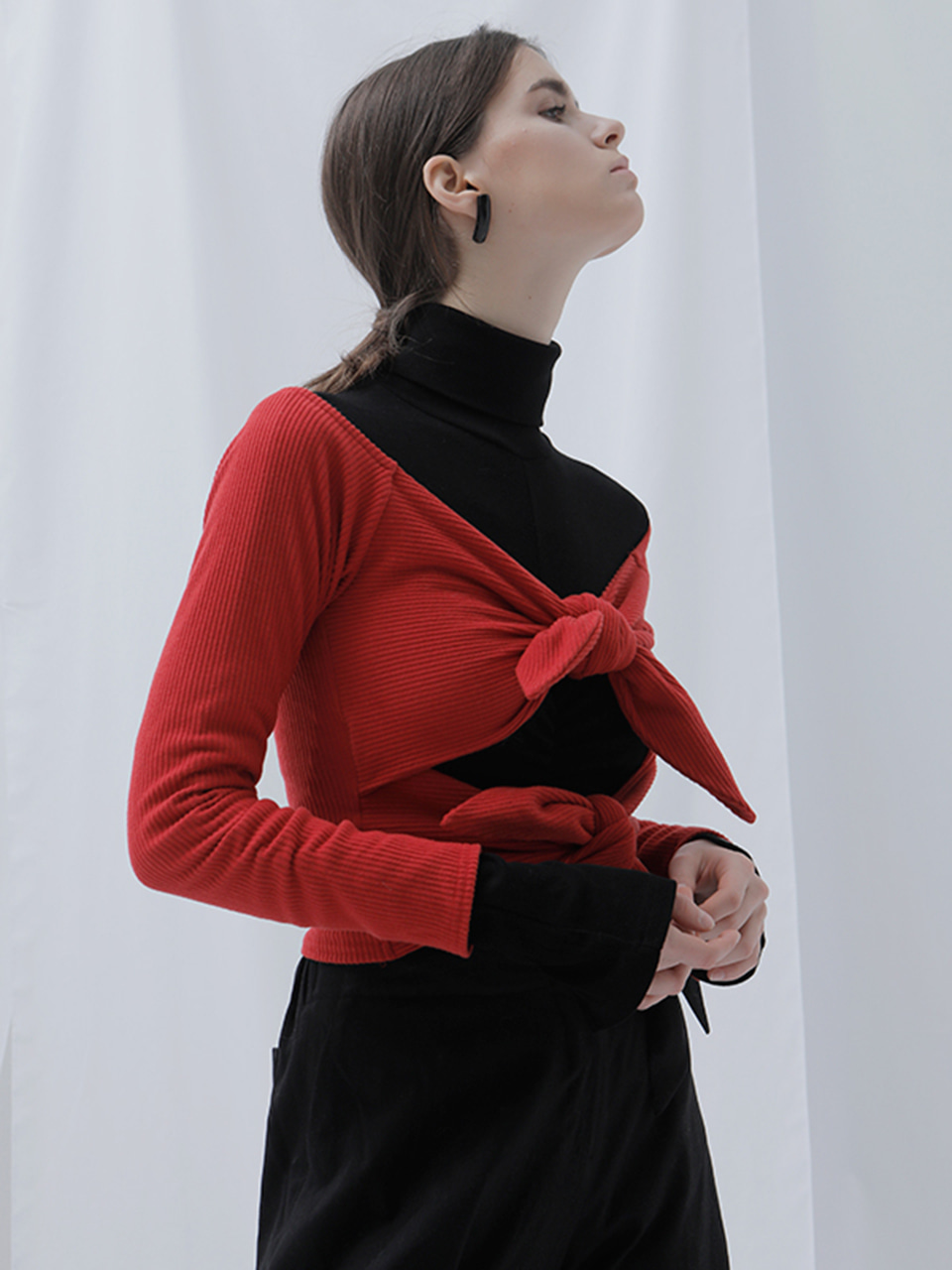 [EVENT] 17 WINTER ribbon cardigan (red)