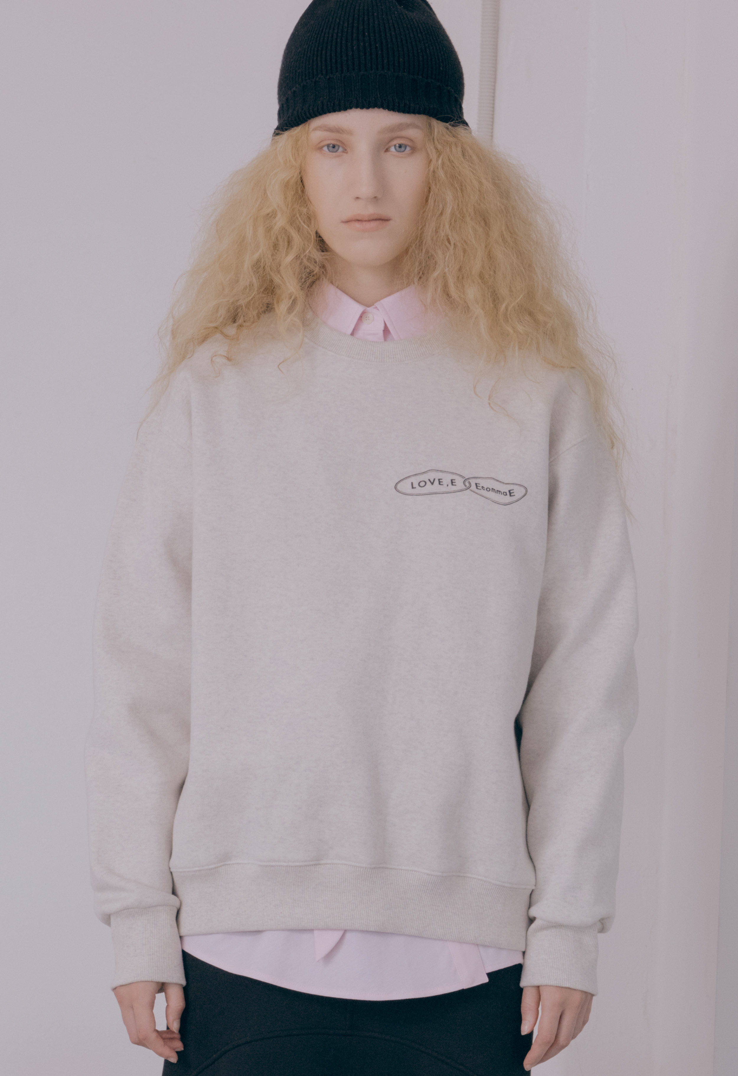 [NEW] LOVE,E SWEAT-SHIRT (GRAY)